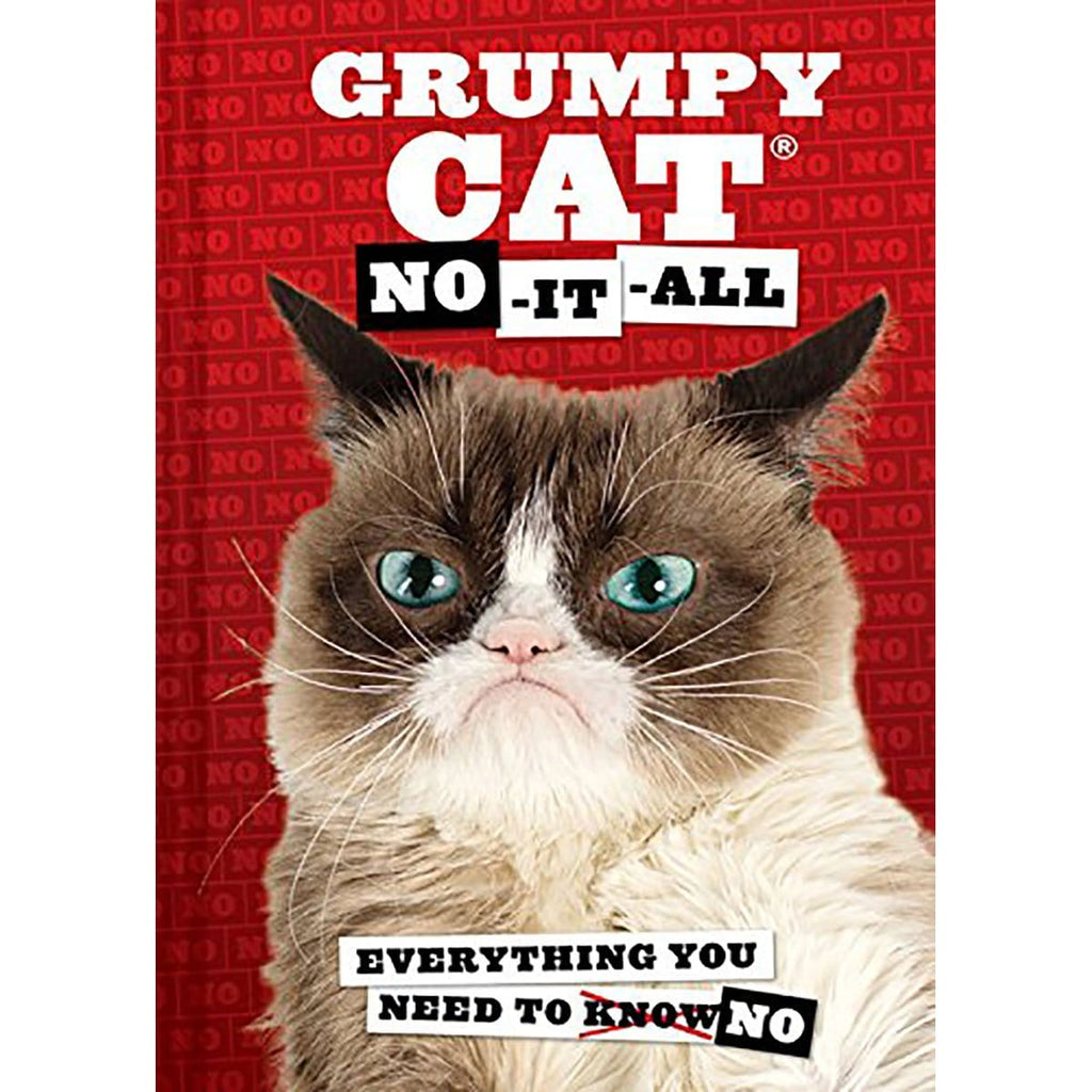 Grumpy Cat : No-it-All - Daves Deals