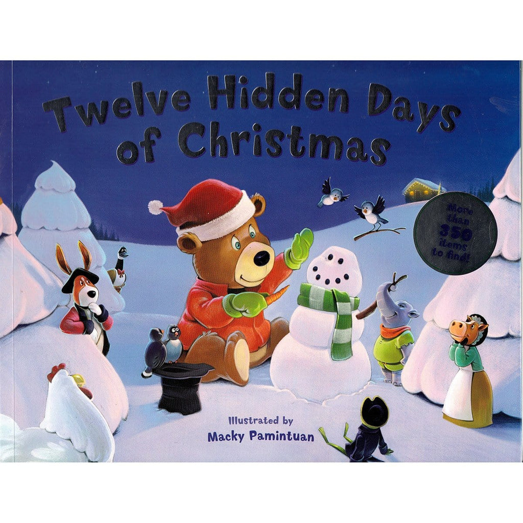 12 Hidden Days Of Christmas - Illustrated by Macky Pamintuan - Daves Deals