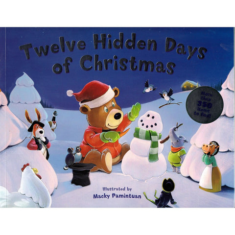 12 Hidden Days Of Christmas - Illustrated by Macky Pamintuan, [Product Type] - Daves Deals