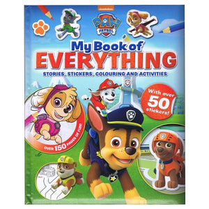 Paw Patrol My Book Of Everything - Stories, Stickers, Colouring and Activities, with over 50 stickers!, [Product Type] - Daves Deals