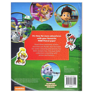 Paw Patrol My Book Of Everything - Stories, Stickers, Colouring and Activities, with over 50 stickers!