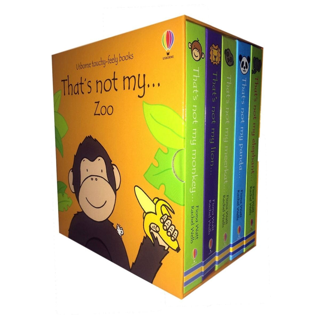 That's Not My… Zoo 5 Book Boxset, [Product Type] - Daves Deals