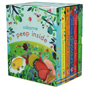 Usborne Peep Inside 6 Book Set - Daves Deals