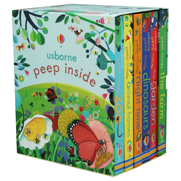Usborne Peep Inside 6 Book Set
