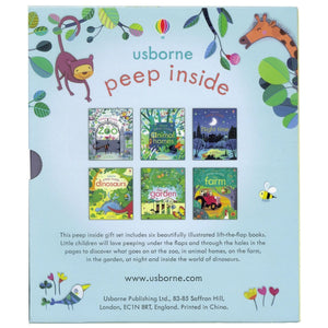 Usborne Peep Inside 6 Book Set, [Product Type] - Daves Deals