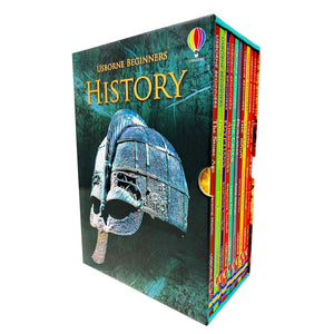 Usborne Beginners History 10 Books Collection Box Set - Daves Deals