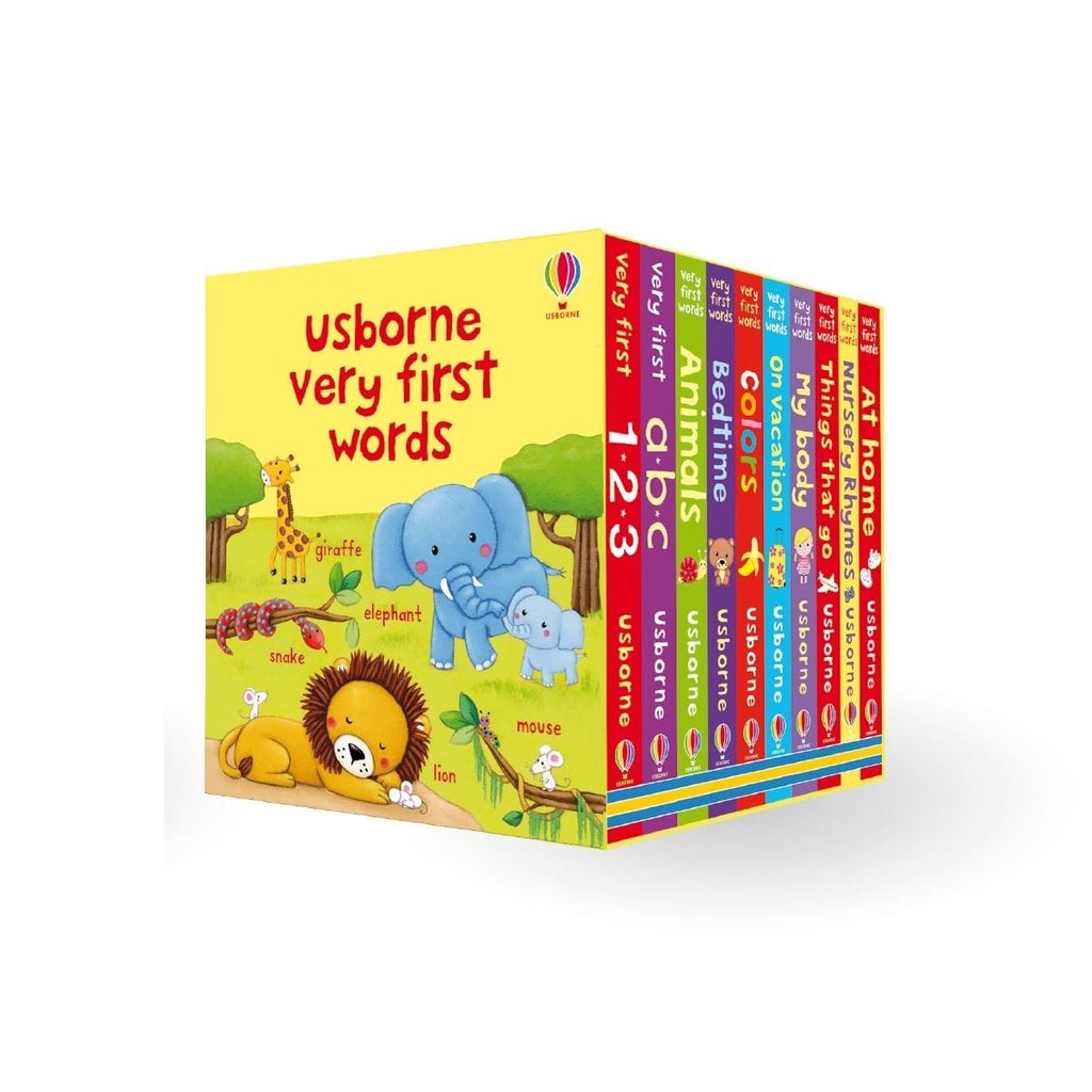 Usborne Very First Words Box Set, [Product Type] - Daves Deals