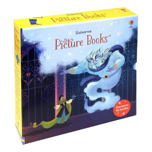 Usborne Picture Books 12 Book Box Set, [Product Type] - Daves Deals