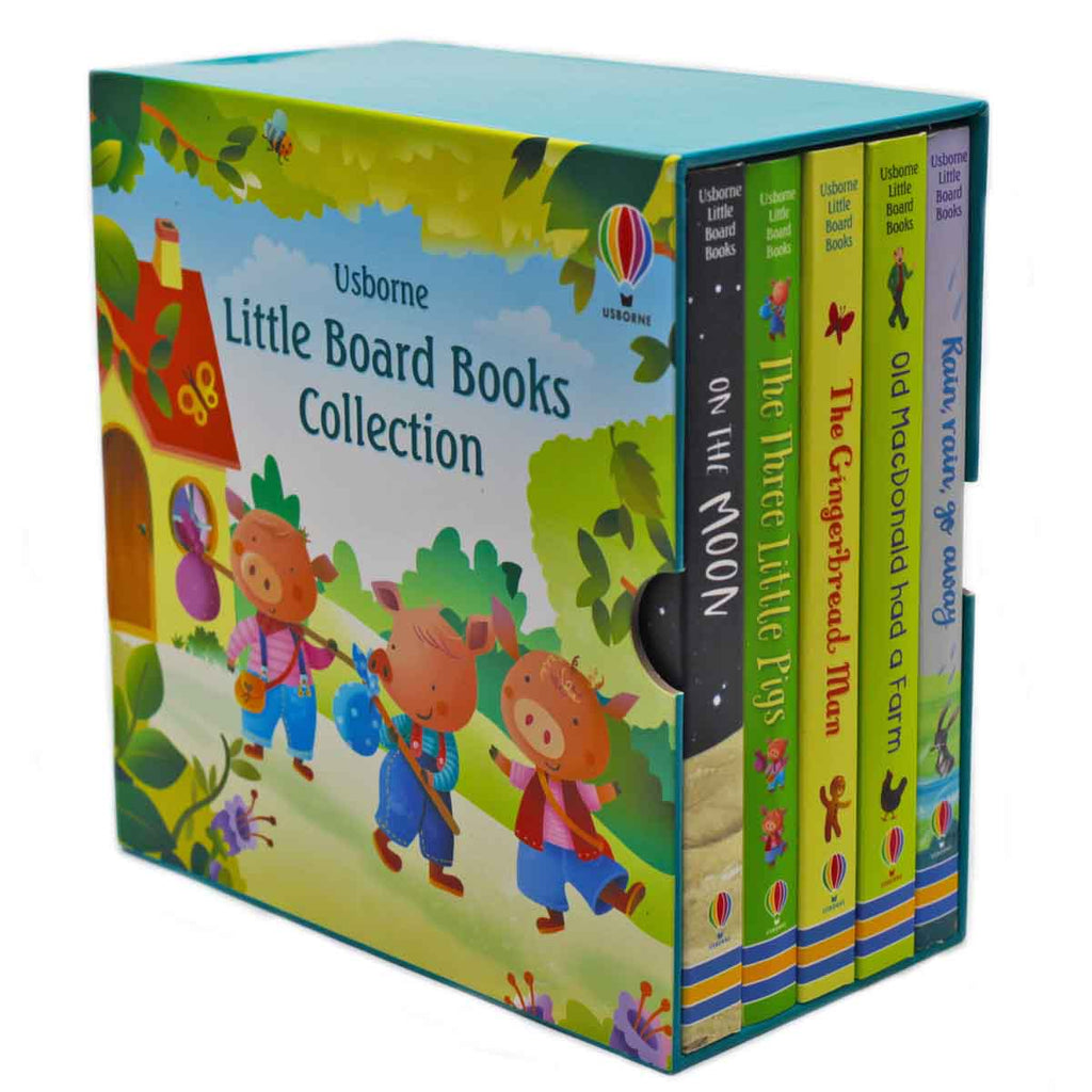 Usborne Little Board Book Collection