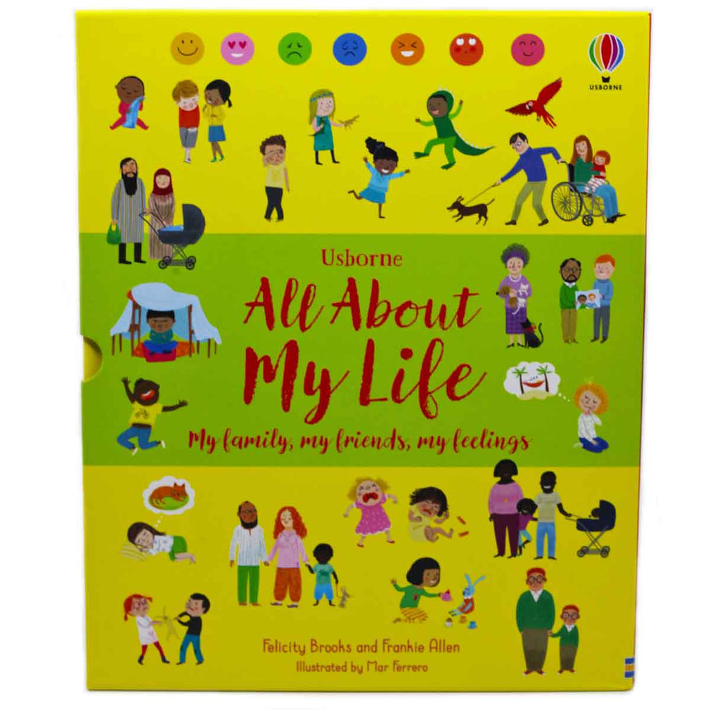 Usborne All About My Life Boxset