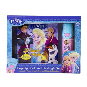 Disney Frozen - Pop-Up Book and Flashlight Set, [Product Type] - Daves Deals