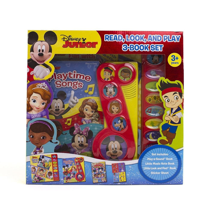 Disney Junior - Read, Look And Play 3-Book Set