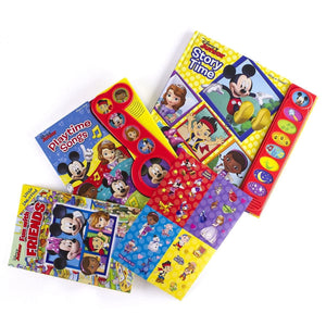Disney Junior - Read, Look And Play 3-Book Set, [Product Type] - Daves Deals