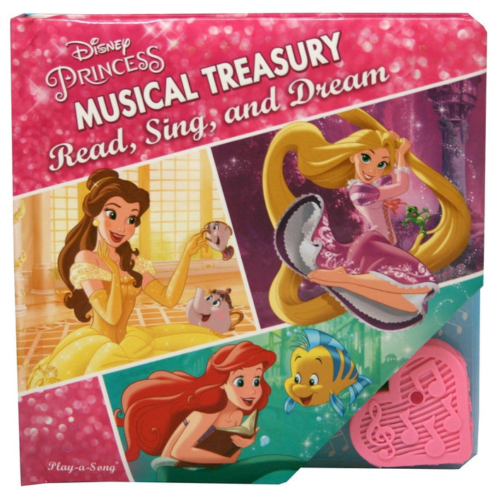Disney Princess Musical Treasury - Read, Sing and Dream
