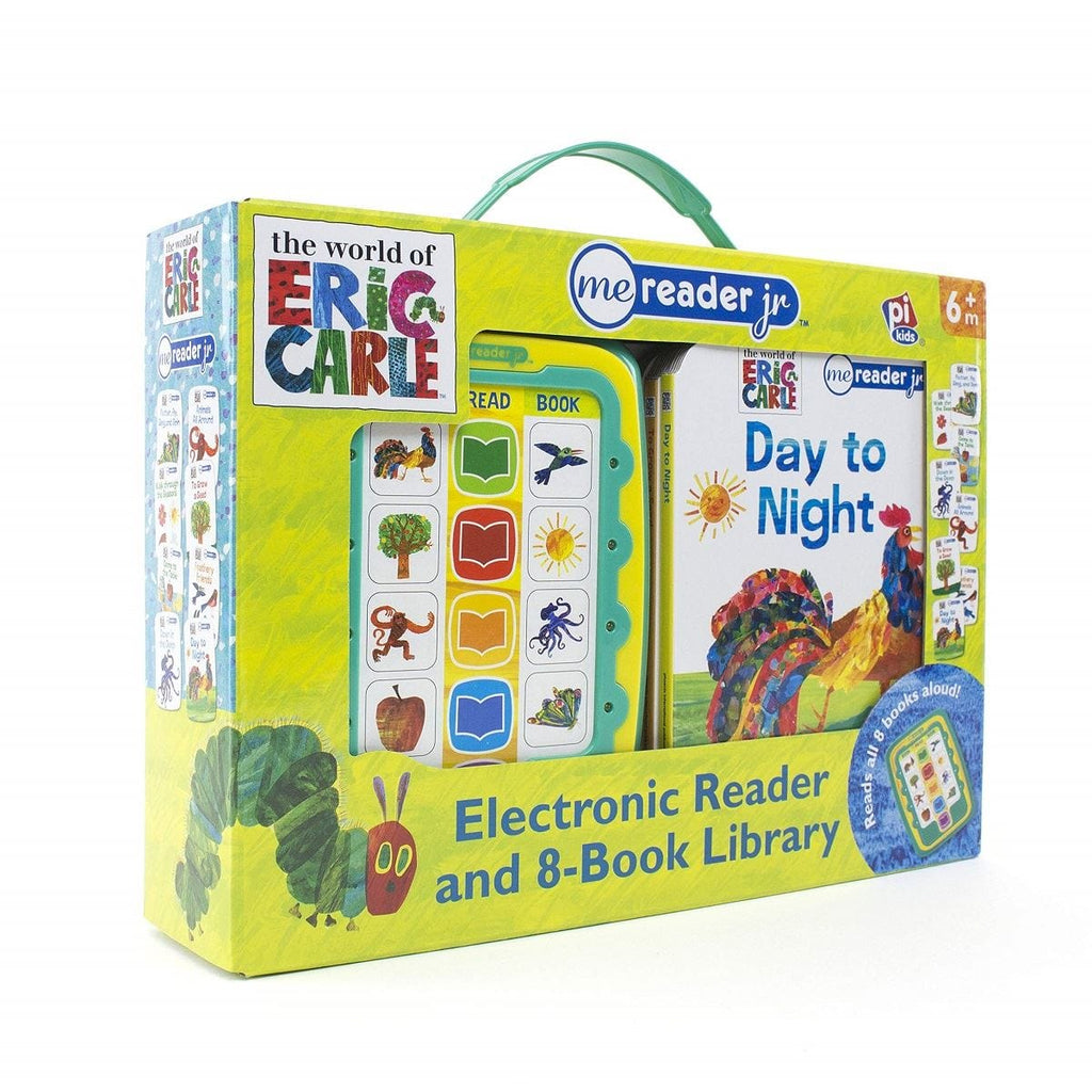 The World Of Eric Carle - Me Reader jr. Electronic Reader and 8-Book Library, [Product Type] - Daves Deals