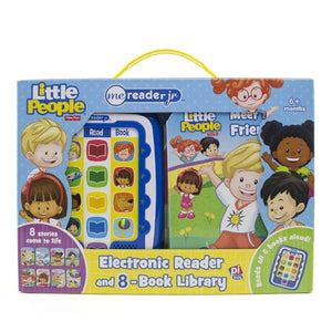 Fisher Price Little People - Me Reader Jr. Electronic Reader and 8-Book Library, [Product Type] - Daves Deals