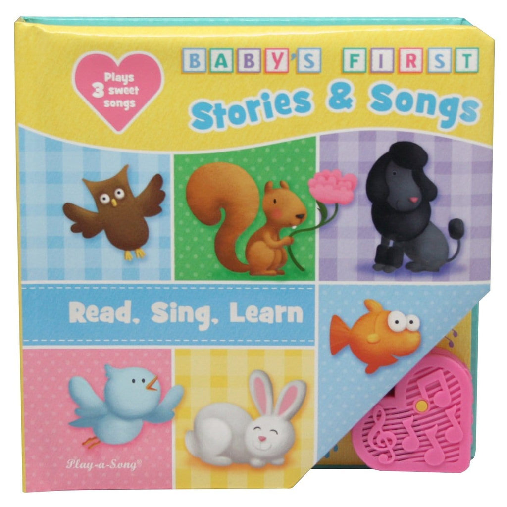 Baby's First Stories & Songs, Read, Sing, Learn Play-a-Sound Book - Daves Deals