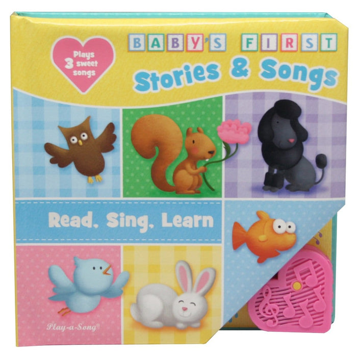 Baby's First Stories & Songs, Read, Sing, Learn Play-a-Sound Book
