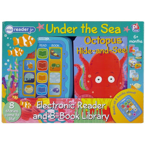 ME Reader Jr Under The Sea – Electronic Reader and 8-Book Library, [Product Type] - Daves Deals
