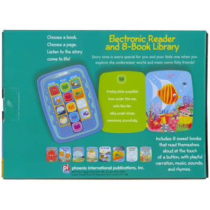 ME Reader Jr Under The Sea – Electronic Reader and 8-Book Library