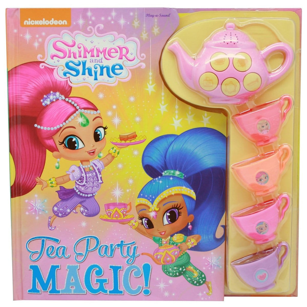 Shimmer and Shine - Tea Party Magic Play-a-Sound Book, [Product Type] - Daves Deals