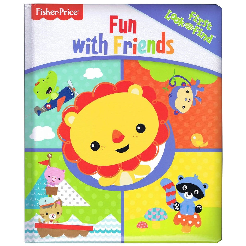 Fisher Price - Fun With Friends First Look and Find - Daves Deals