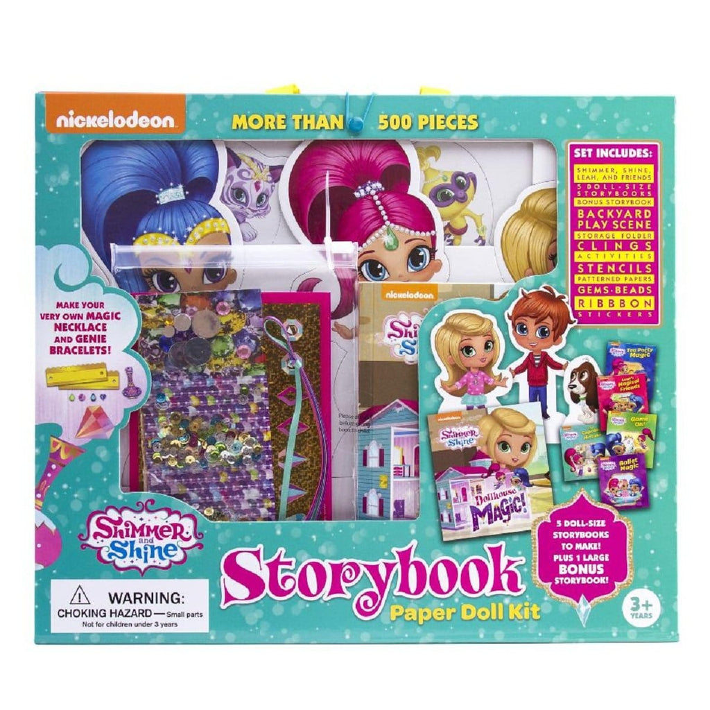 Shimmer and Shine - Storybook Paper Doll Kit, [Product Type] - Daves Deals