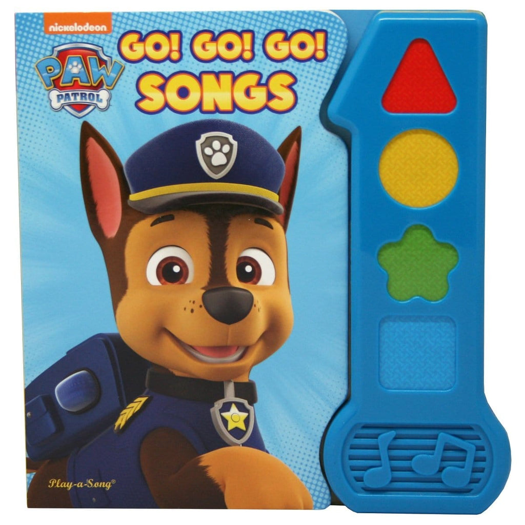 Paw Patrol - Go! Go! Go! Songs Play-a-Sound Book, [Product Type] - Daves Deals