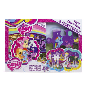 My Little Pony - First Look and Find & Giant Puzzle, [Product Type] - Daves Deals