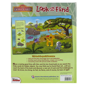 The Lion Guard - Look and Find, [Product Type] - Daves Deals