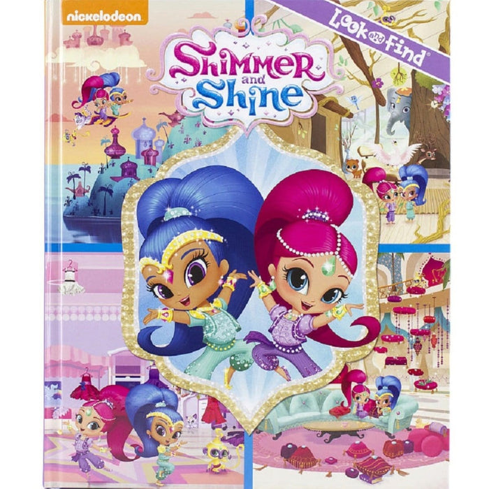 Shimmer and Shine - Look and Find