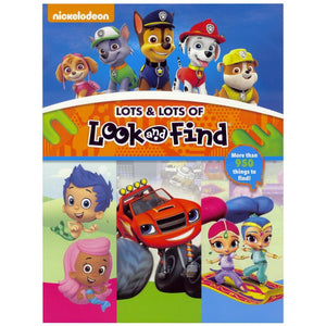 Nickelodeon - Lots & Lots Of Look and Find, [Product Type] - Daves Deals