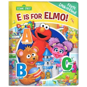 Sesame Street - E Is For Elmo! First Look and Find, [Product Type] - Daves Deals