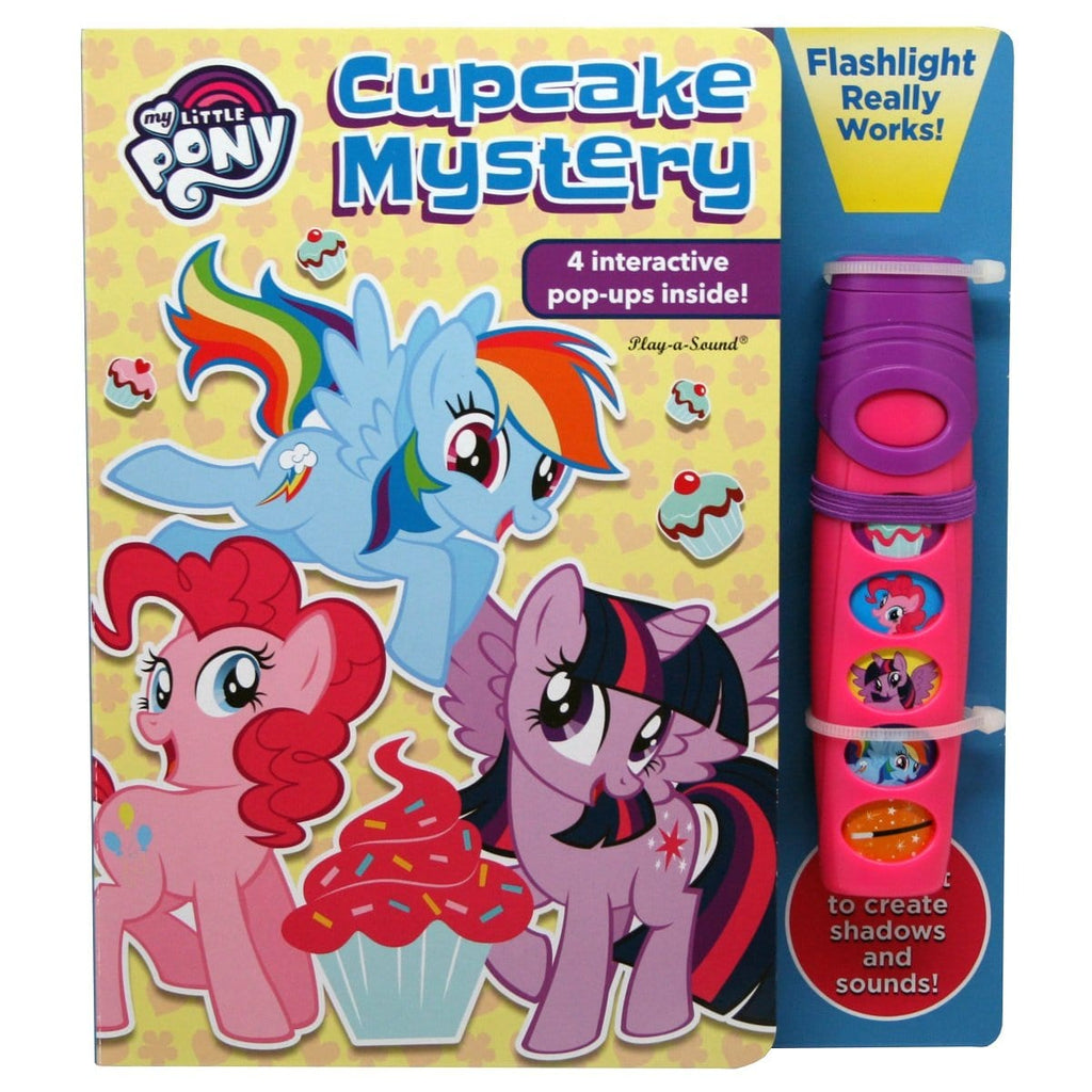 My Little Pony - Cupcake Mystery, A Flashlight Adventure Sound Book - Daves Deals