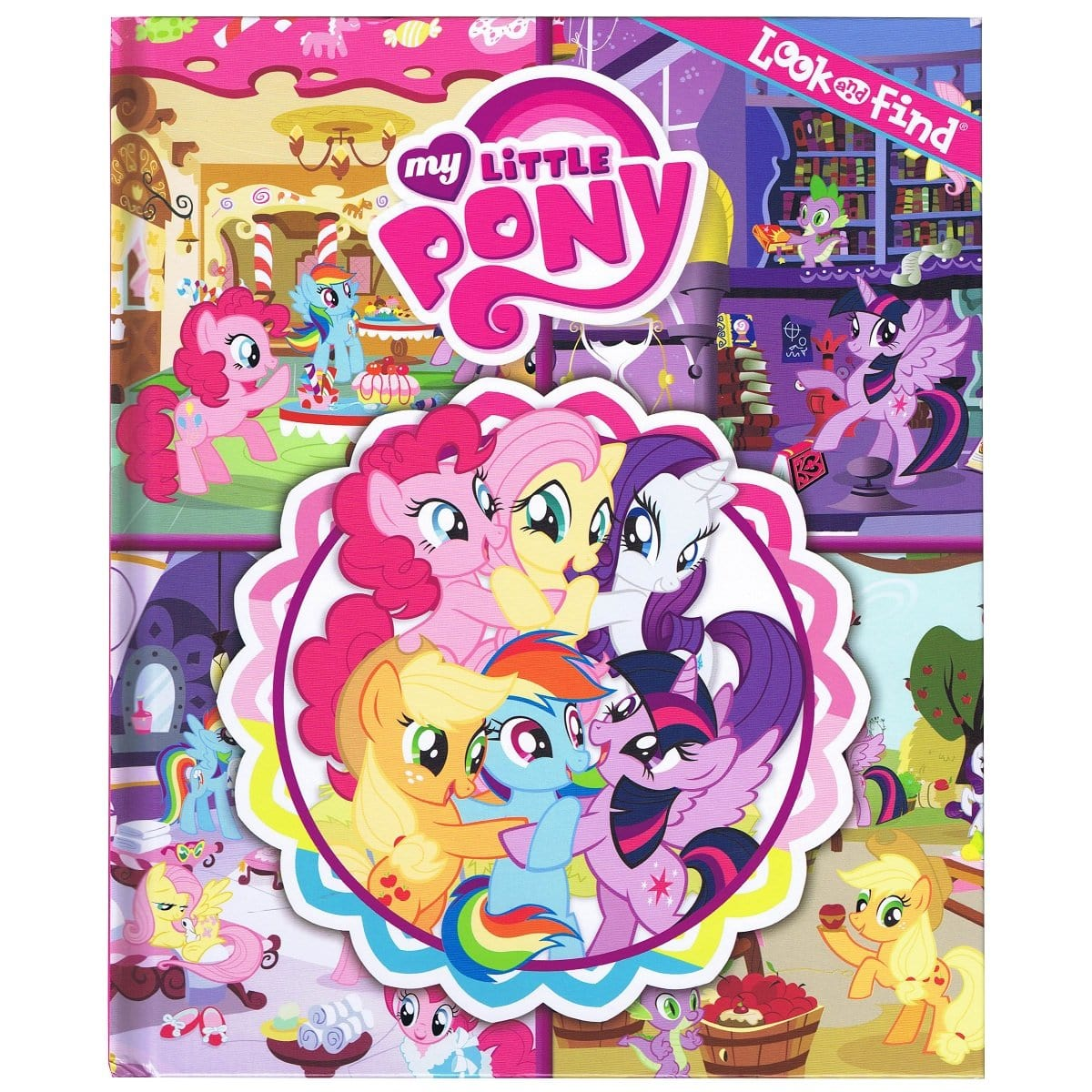my little pony look and find best children s book daves deals