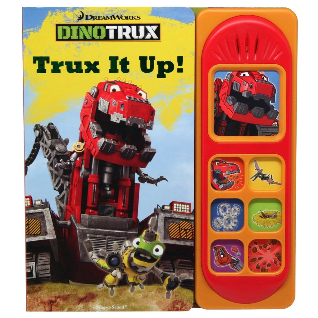 Dreamworks Dinotrux - Trux It Up! Play-a-Sound Book, [Product Type] - Daves Deals