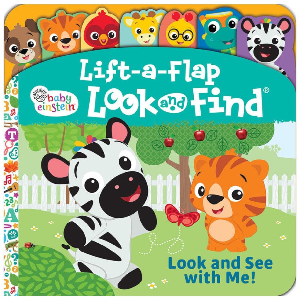 Baby Einstein Look and See With Me! - Lift-a-Flap Look and Find, [Product Type] - Daves Deals
