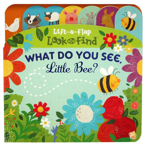 What Do You See, Little Bee? - Lift-a-Flap Look and Find - Daves Deals