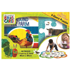 The World Of Eric Carle - First Look and Find & Giant Floor Puzzle, [Product Type] - Daves Deals