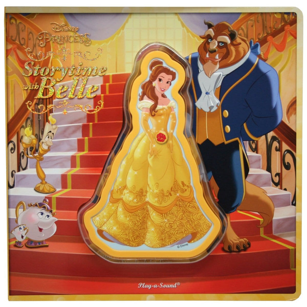 Disney Princess - Storytime With Belle Play-a-Sound Book, [Product Type] - Daves Deals