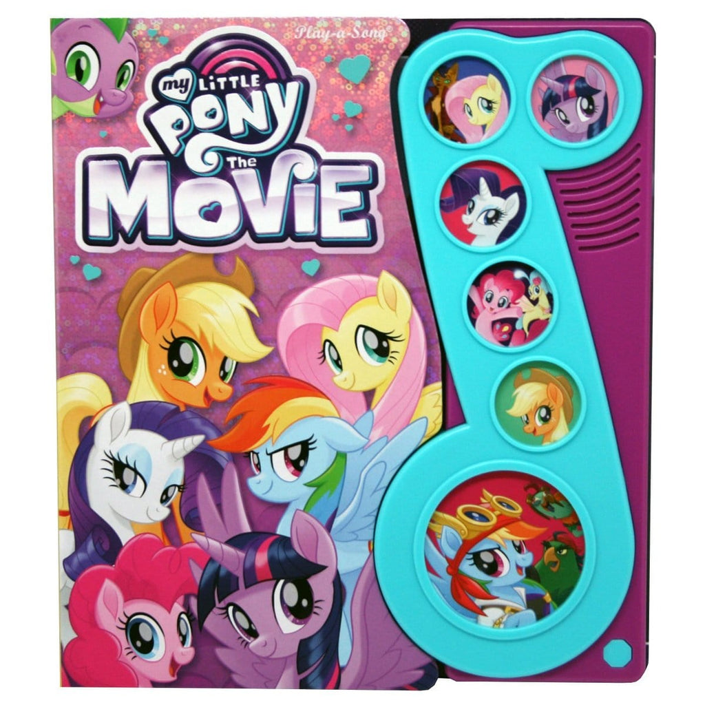 My Little Pony Little Music Note Play-A-Sound Book, [Product Type] - Daves Deals