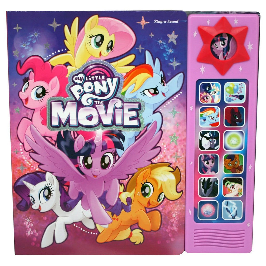 My Little Pony Custom Frame Play-A-Sound Book, [Product Type] - Daves Deals