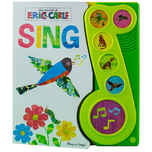 The World Of Eric Carle Sing - Little Music Note Play-a-Song Book - Daves Deals