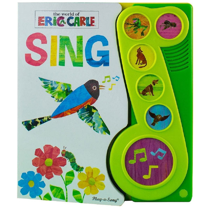 The World Of Eric Carle Sing - Little Music Note Play-a-Song Book