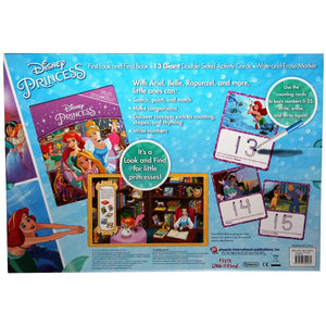 Disney Princess First Look and Find Giant Write-and-Erase Activity Card Set, [Product Type] - Daves Deals