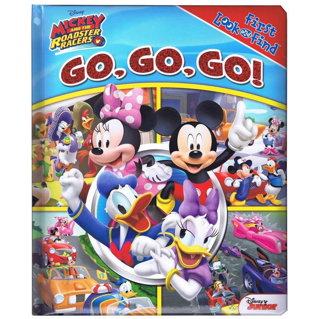 Mickey And The Roadster Racers - Go, Go, Go! First Look and Find, [Product Type] - Daves Deals