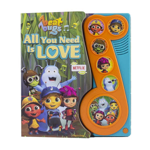 Beat Bugs All You Need Is Love - Little Music Note Play-a-Song Book, [Product Type] - Daves Deals
