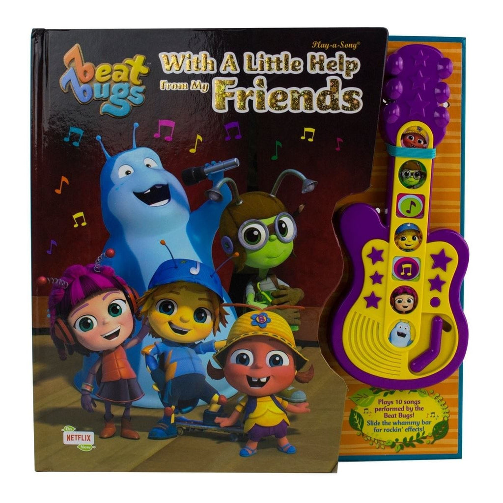 Beat Bugs - With A Little Help From My Friends Play-a-Song, [Product Type] - Daves Deals
