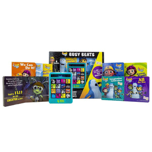Beat Bugs Busy Beats - Electronic Music Maker and 8-Book Library, [Product Type] - Daves Deals