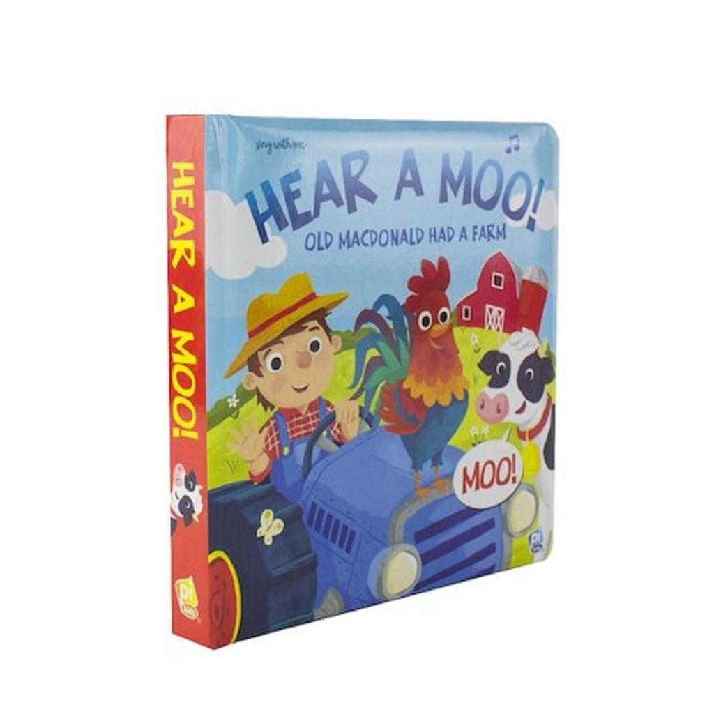 Hear A Moo! Old MacDonal Had A Farm - Sing With Me Book - Daves Deals